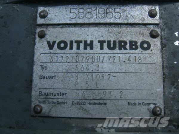 Voith 864.3, 2002, Växellådor
