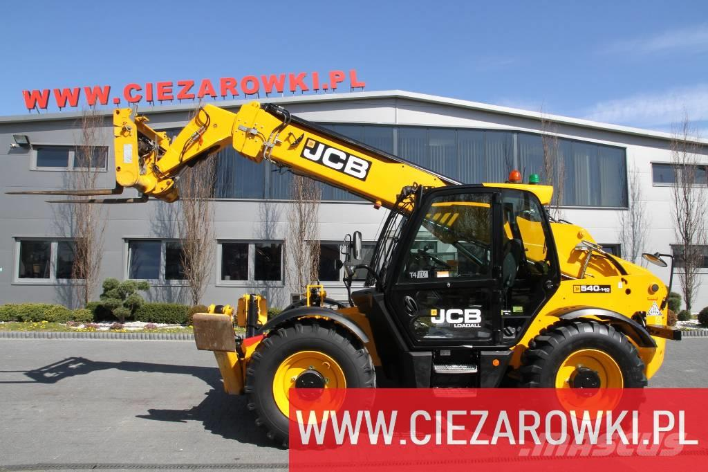 JCB 540-140 / side shift / 4x4x4 /max 4,000kg - 14m