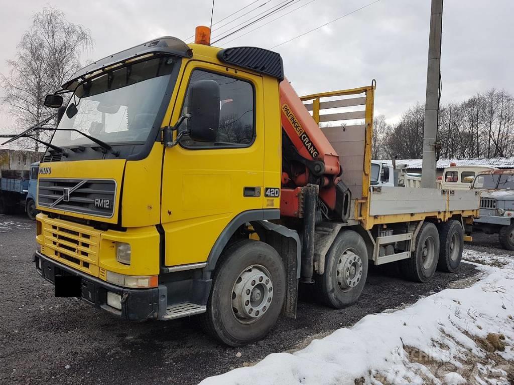 Volvo FM12 420 8X4 + PALFINGER PK20002