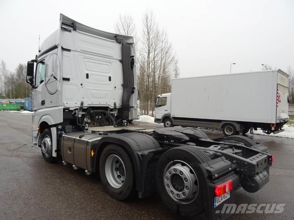 used mercedes benz actros 2551ls 6x2 2 bigspace tractor units year 2016 price 136 067 for. Black Bedroom Furniture Sets. Home Design Ideas