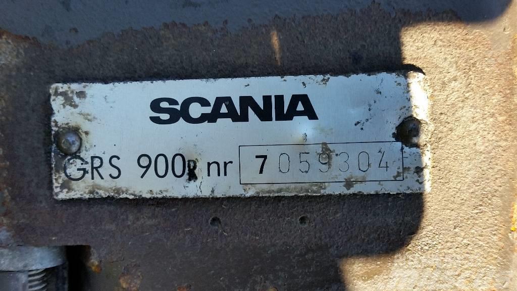 Scania GRS900 INTARDER, Växellådor