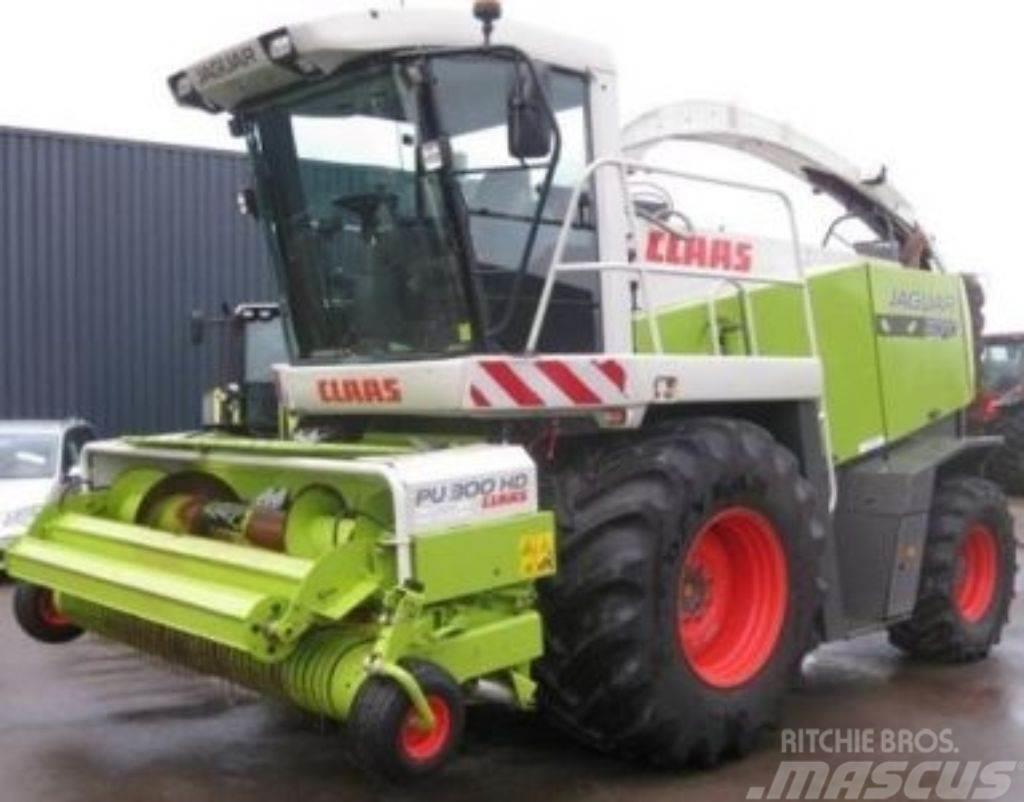 CLAAS jaquar 870 schade machine