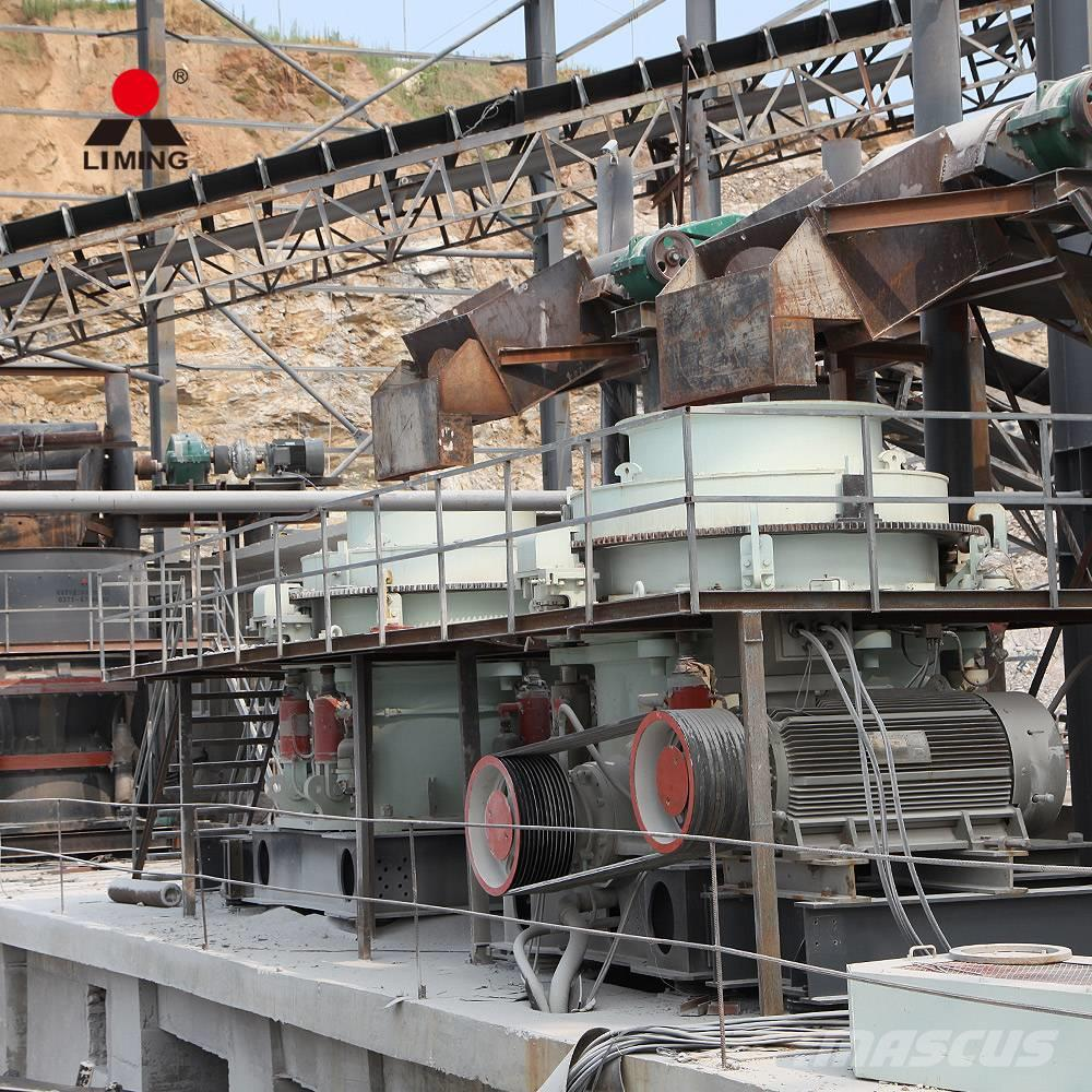 Liming 100-240TPH Stone cone crusher