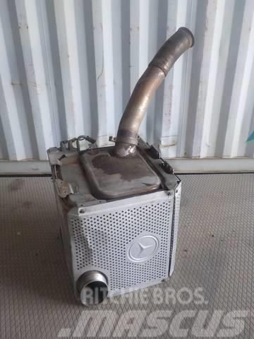 Mercedes-Benz Actros MPII Exhaust silencer 34901214/0064900714/2