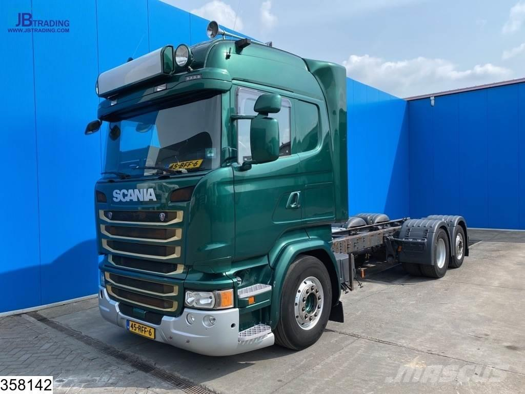 Scania R 490 6x2, EURO 6, Retarder, PTO, Standairco