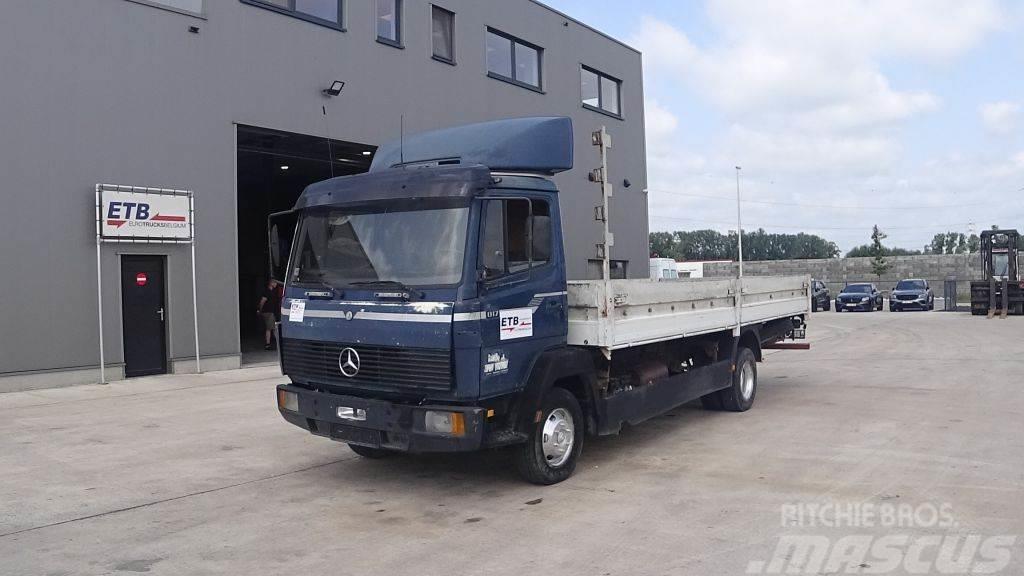 Mercedes-Benz SK 817 (STEEL SUSPENSION & MANUAL PUMP / SUSPENSIO