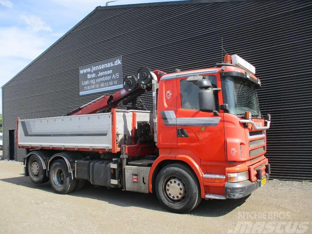 Scania R 420 TIP/KRAN