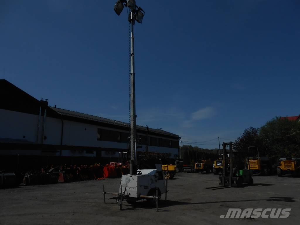 SMC TL90, wieża oświetleniowa, maszt oświetleniowy, 9m
