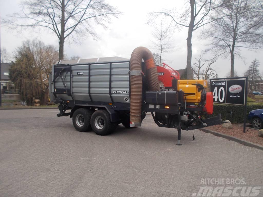 Trilo Laubsaugwagen /Vacuumsweeper SG1100DX