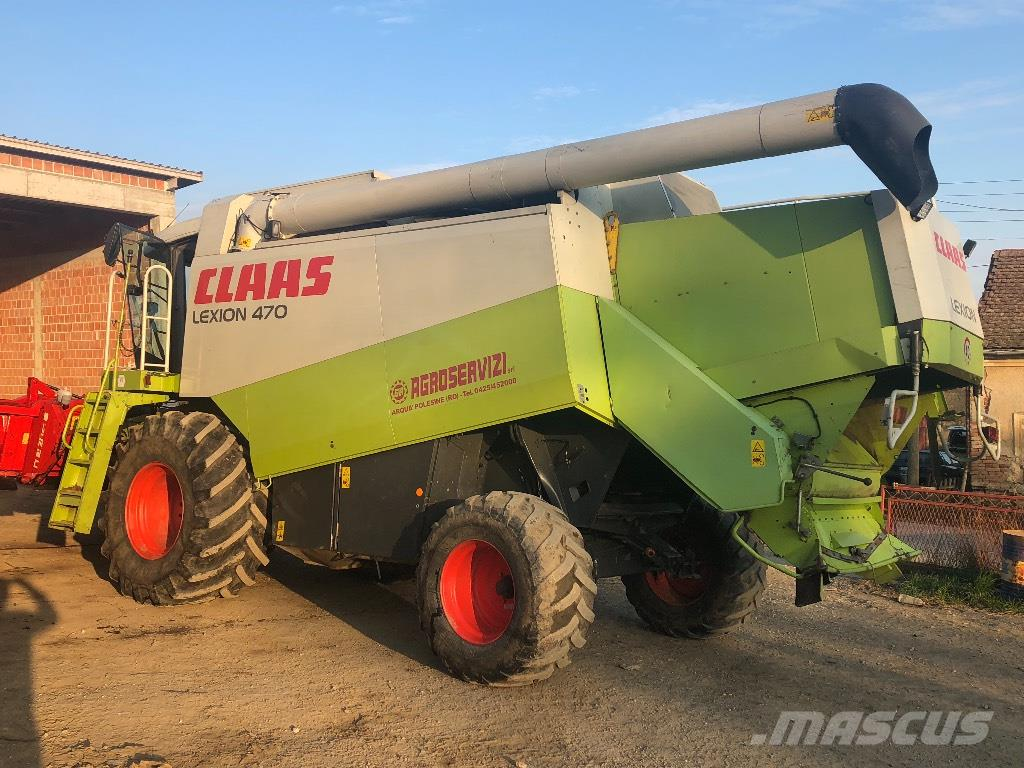 CLAAS Lexion 470 Evolution