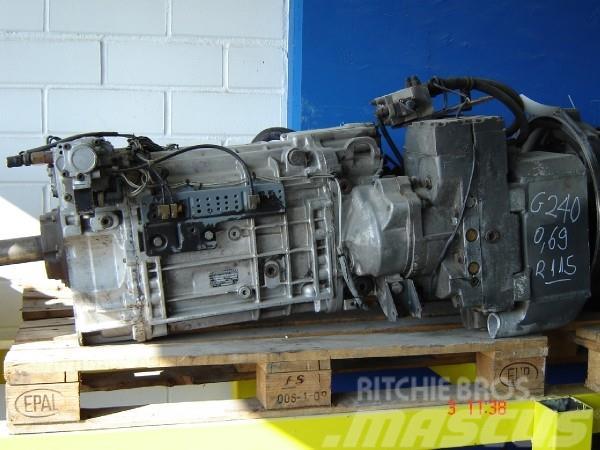 Mercedes-benz G240 + Retarder R115H