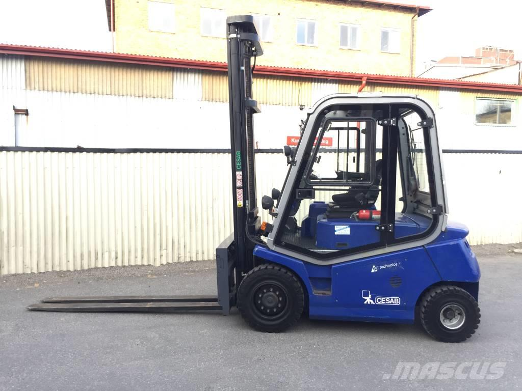 Cesab MAK 450 4,5 tons eltruck 5 meter lh