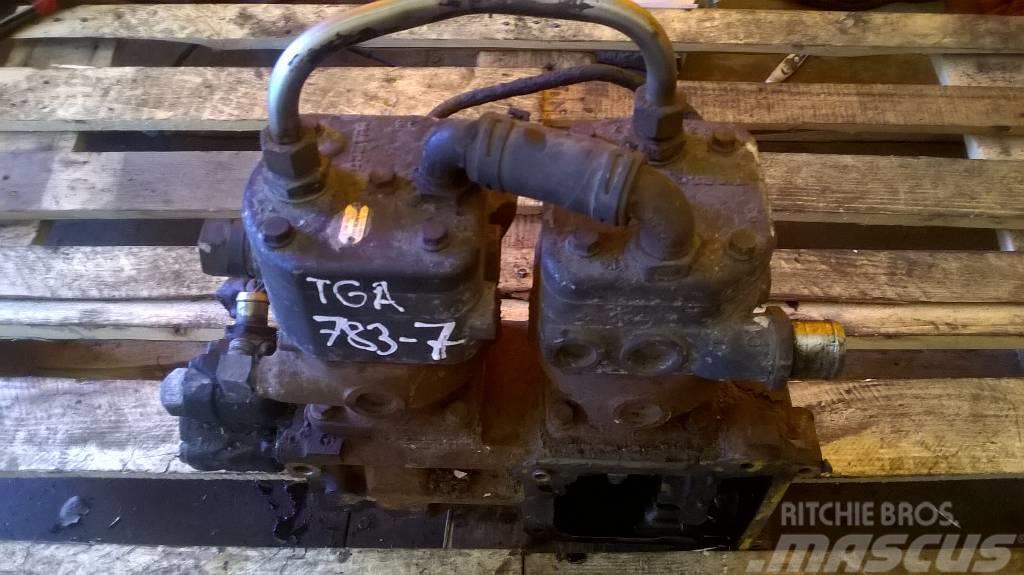 MAN TGA compressor