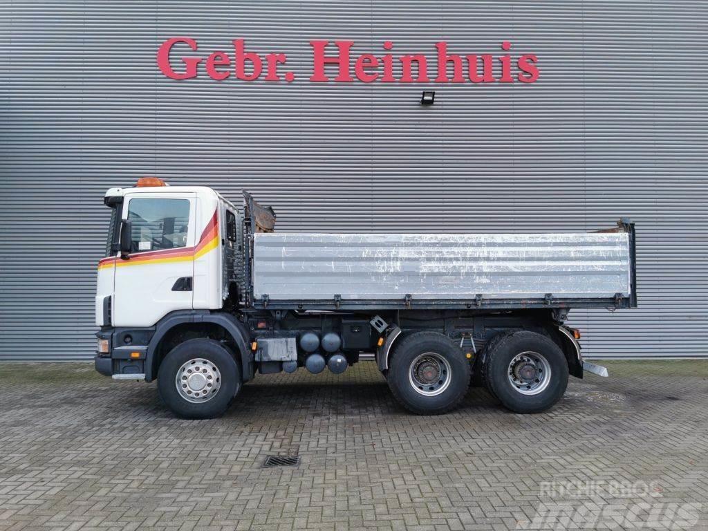 Scania R124C 420 6x4 Schwarzmuller 3seitenkipper!