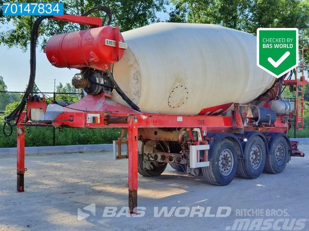 Müller Mitteltal SF37.5BM/MS 3 axles 12m3 Concrete Mixer