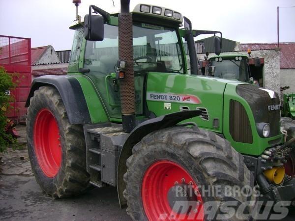 Fendt 820, 2008, Traktorer