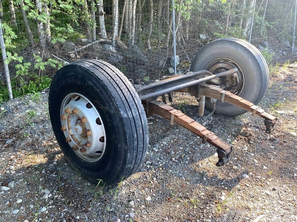 Scania etuakseli + renkaat + jousipakat