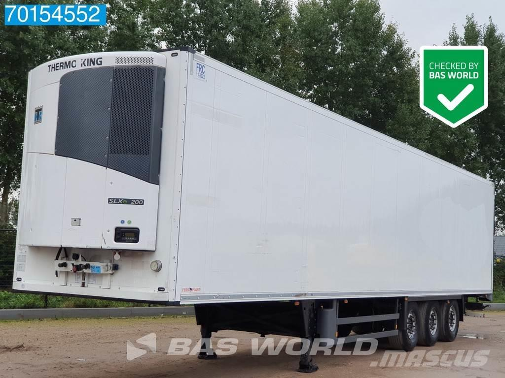 Schmitz Cargobull Thermoking SLXe200 3 axles Liftachse Doppelstock
