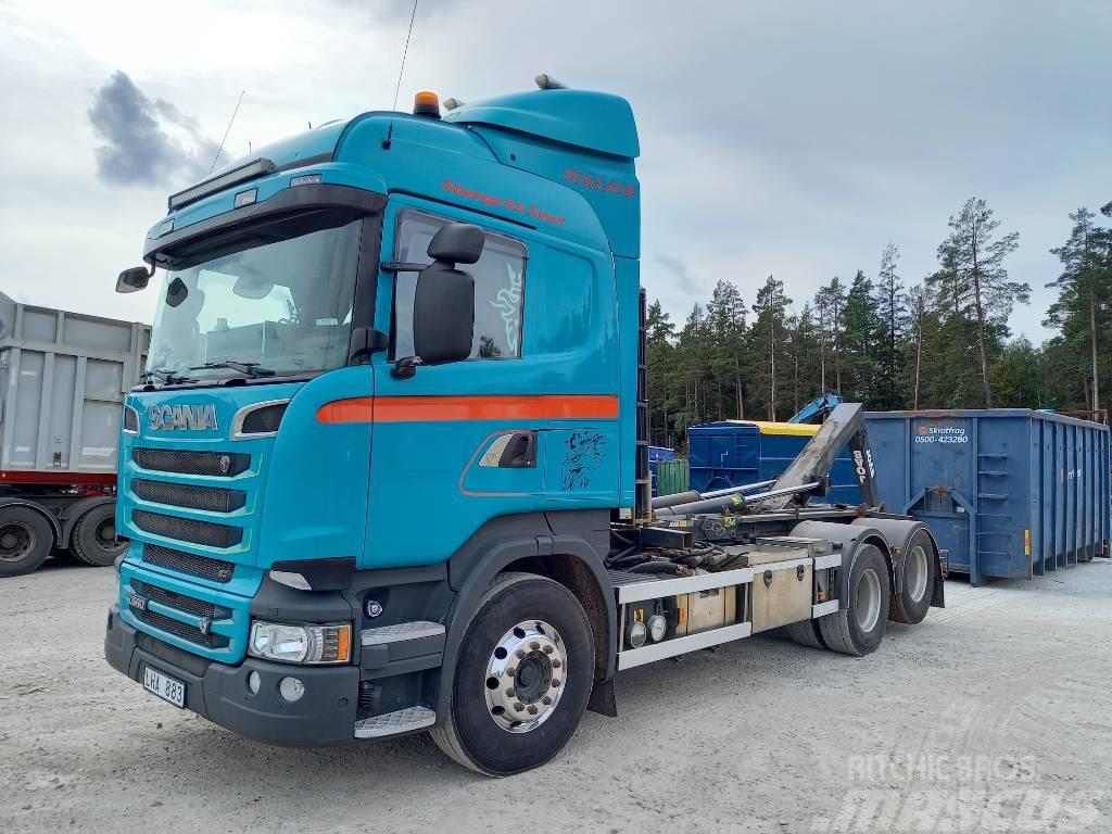 Scania R560 Cameleont/Lastväxlare