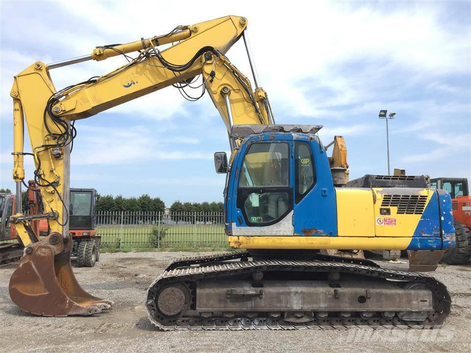 New Holland -kobelco-e305 , 2008 - Crawler excavators - Mascus Ireland