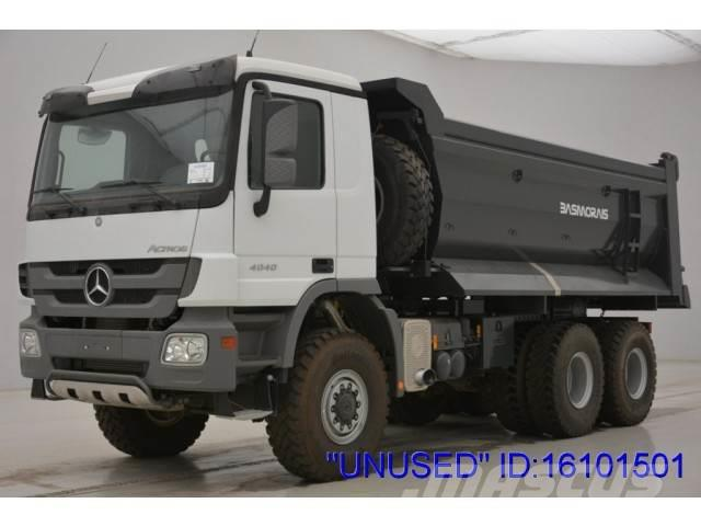 "Mercedes-Benz Actros 4040AK - 6x6 ""Unused"""