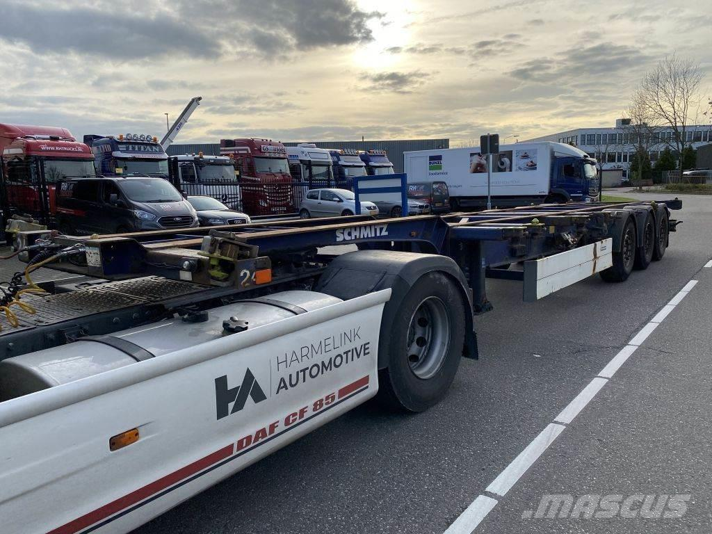 Schmitz Cargobull 3 AS - SAF + BDF SYSTEM
