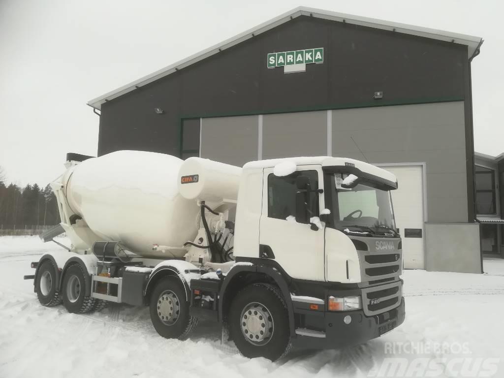Scania P410 Betoniauto
