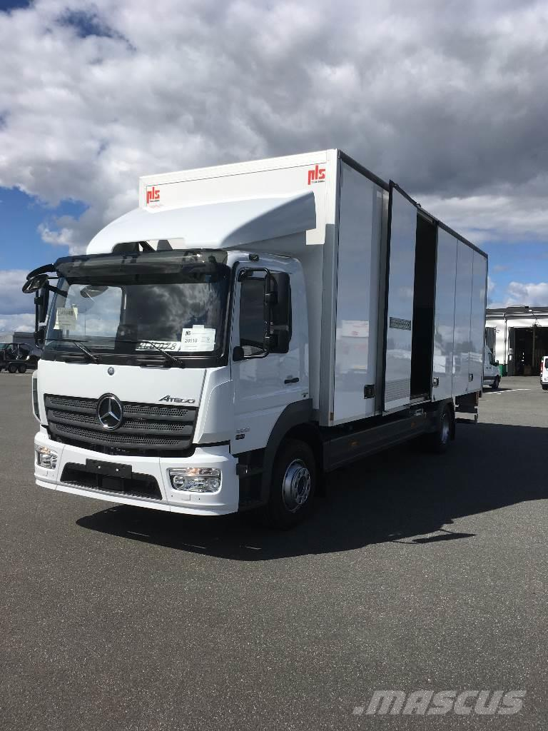 mercedes benz atego 1523 occasion ann e d 39 immatriculation 2016 camion fourgon mercedes benz. Black Bedroom Furniture Sets. Home Design Ideas