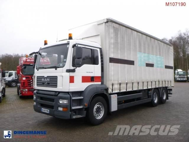 MAN TGA 28.320 6x2 curtain sider