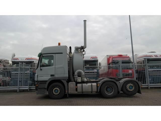 Mercedes-Benz ACTROS 2541 LS 6x2 BOOGIE TRACTOR WITH HIGH PRESSU
