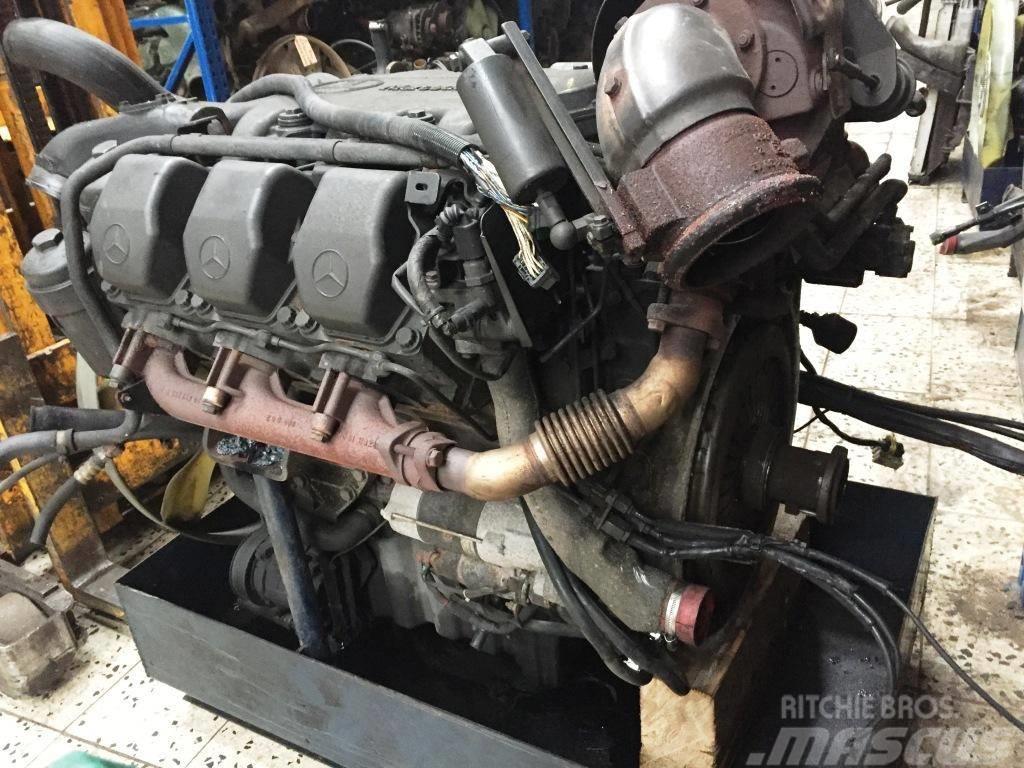 Used mercedes benz om501la om 501 la euro 5 eev engines for Mercedes benz engines
