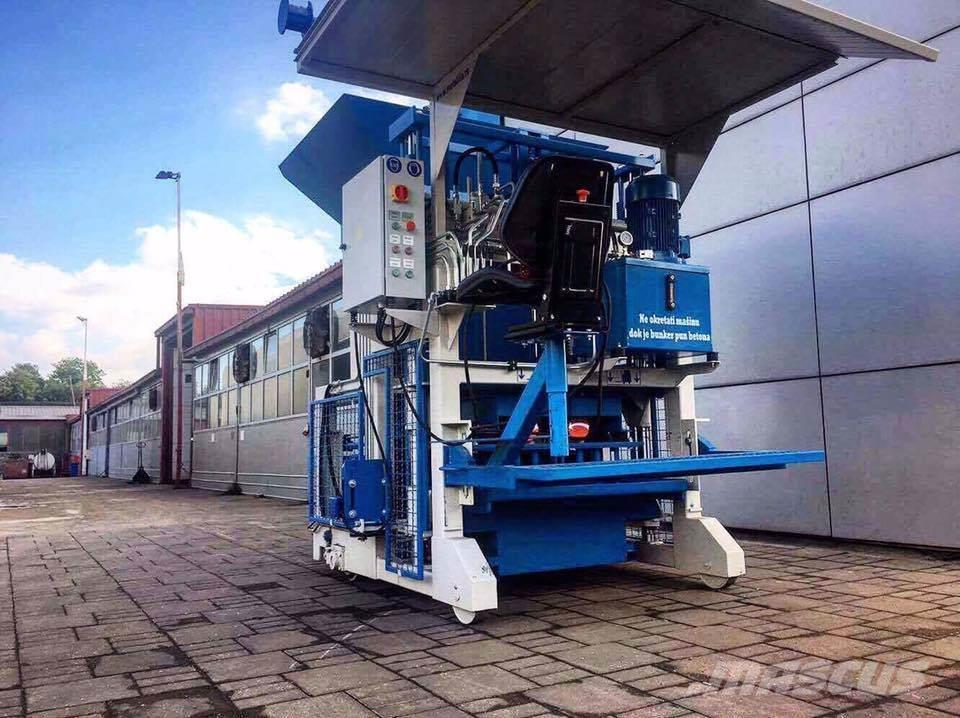 Metalika SVP-533 GT Block Concrete Machine