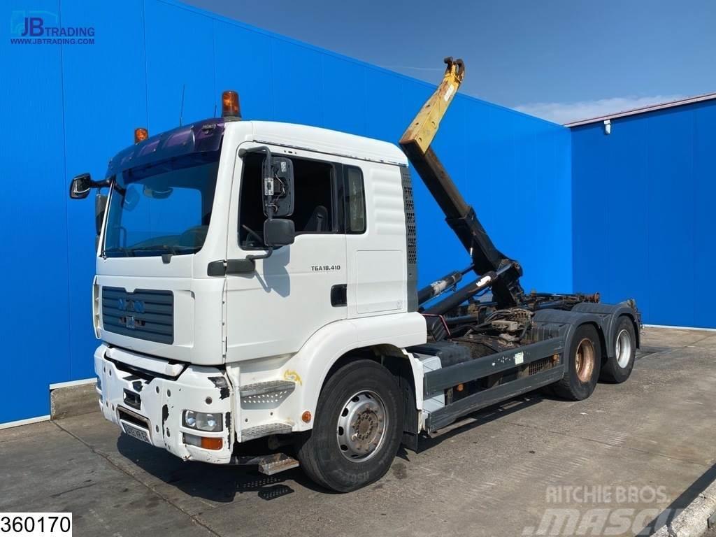 MAN TGA 26 460 6x4, Guima, Retarder, Manual, Steel sus