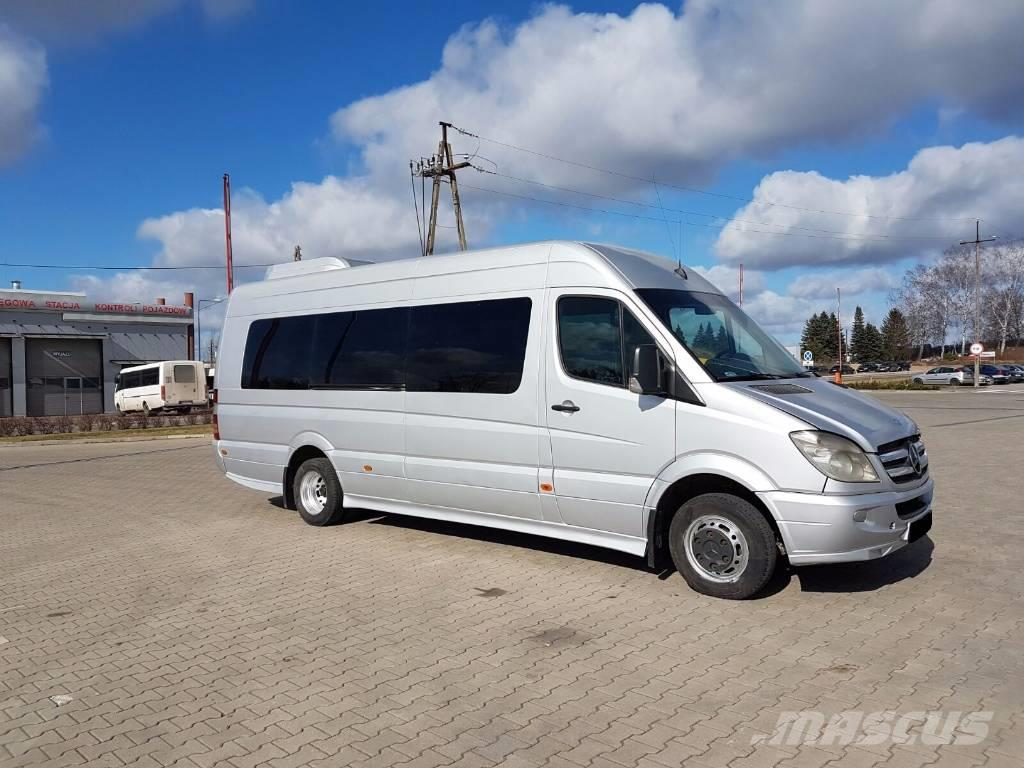 used mercedes benz sprinter 518 mini bus year 2008 price 25 032 for sale mascus usa. Black Bedroom Furniture Sets. Home Design Ideas