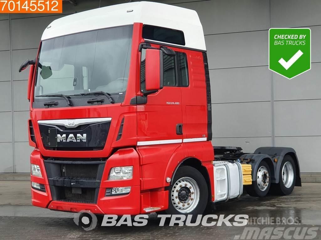MAN TGX 24.480 6X2 XXL Intarder Liftachse Euro 6