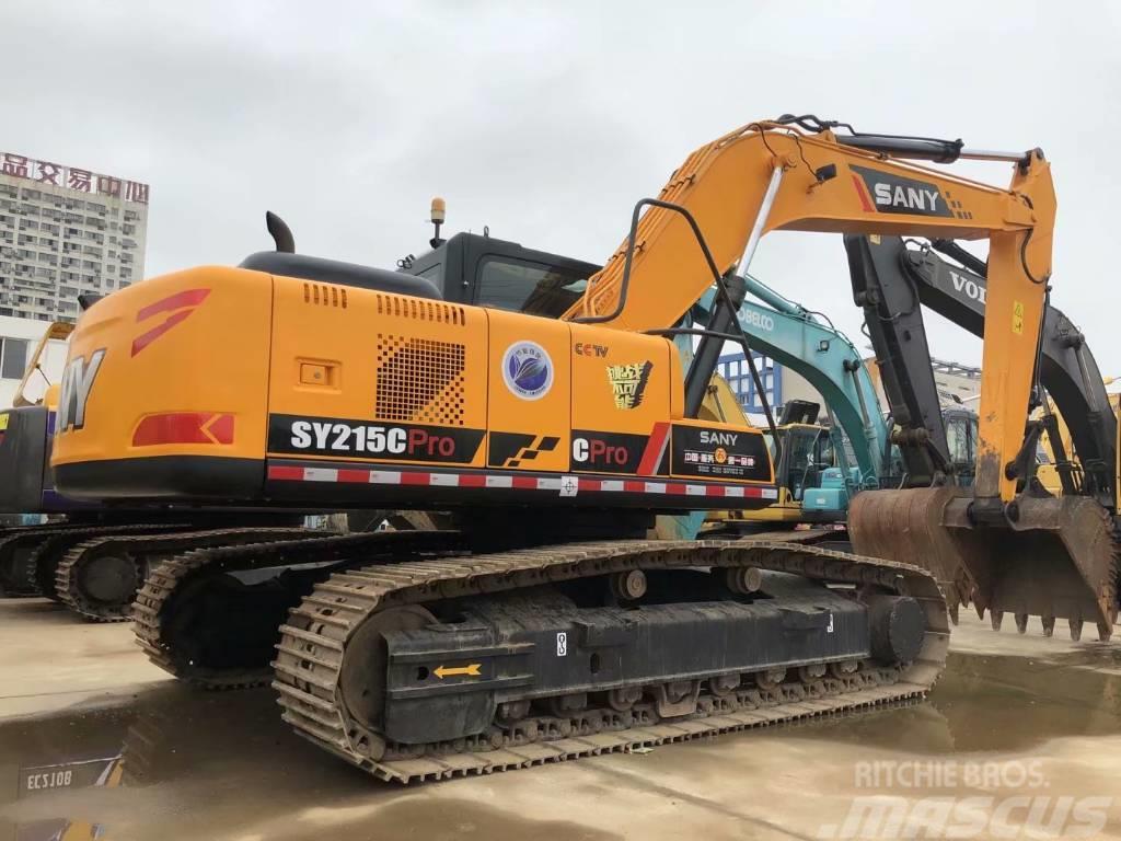 Sany SY215C  SY235C履带式挖掘机