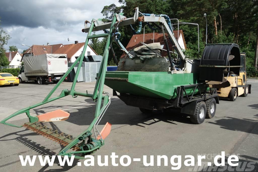 Mulag Mähboot Aquatic Berkey Gödde Boot Harvester