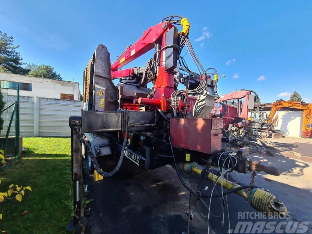 Mus-Max Wood terminator WT 10 XLZ Rębak