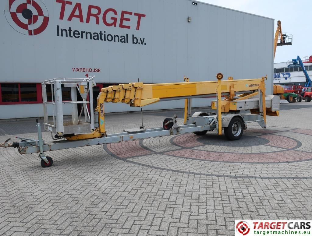 Omme 2900EBZ Telescopic Towable Boom Work Lift 2900cm