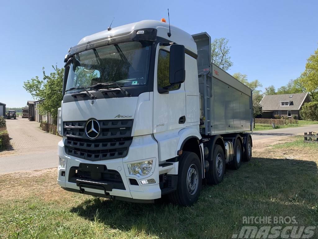 Mercedes-Benz AROCS 3745 L ENA 8x2/6 Stream-Space Bouwjaar 2020