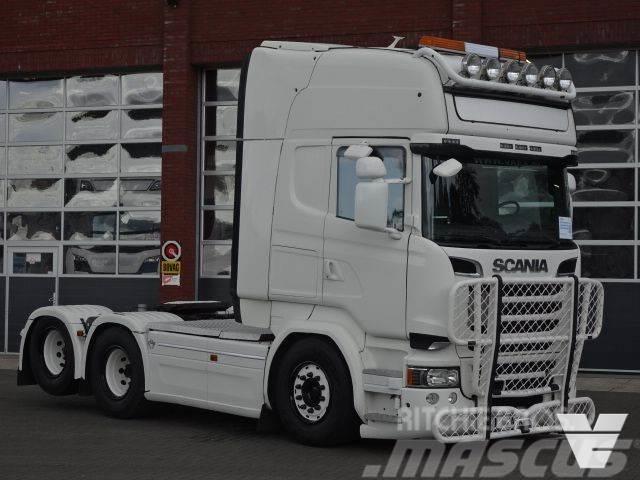 Scania R580 6x2 Topline Boogie Euro 6 Buffl interior