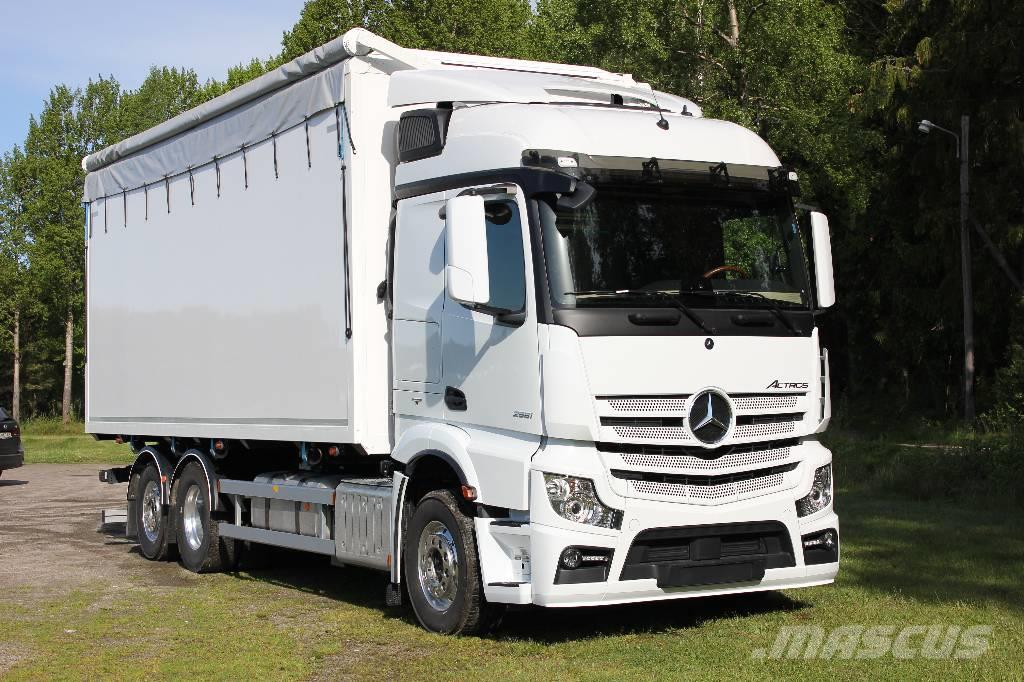 mercedes benz actros 2551 l 6x2 flisbil occasion prix. Black Bedroom Furniture Sets. Home Design Ideas
