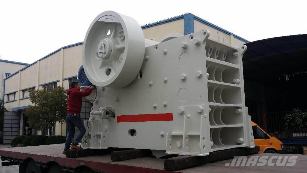 White Lai Primary Jaw Crusher for Stone Rock Crushing PEC160