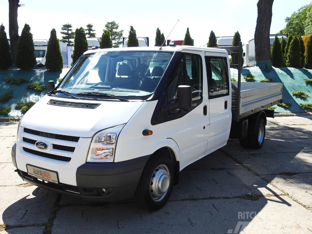 Ford TRANSIT 115T350 SKRZYNIA DOKA 6 MIEJSC KLIMA