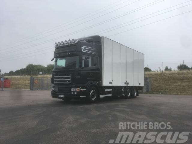 Scania -r-serie - Box body trucks, Year of manufacture: 2008 - Mascus UK