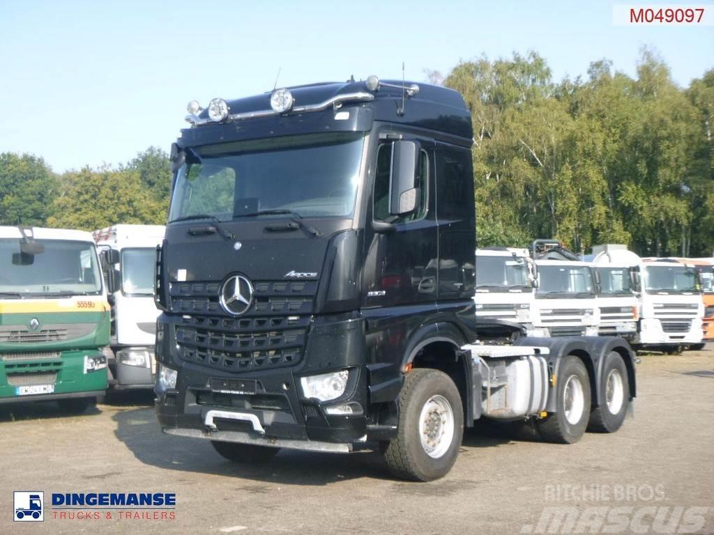 Mercedes-Benz Arocs 3363 6x4 Euro 6 + hydraulics