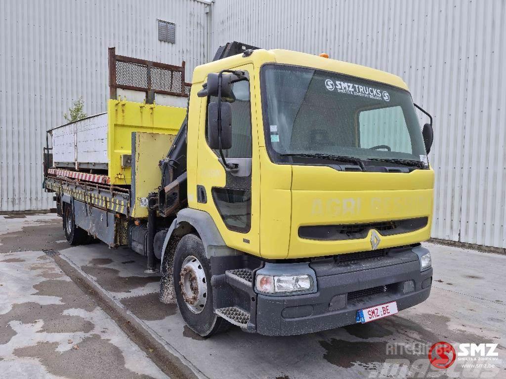 Renault Premium 260 hiab 140 manual pump