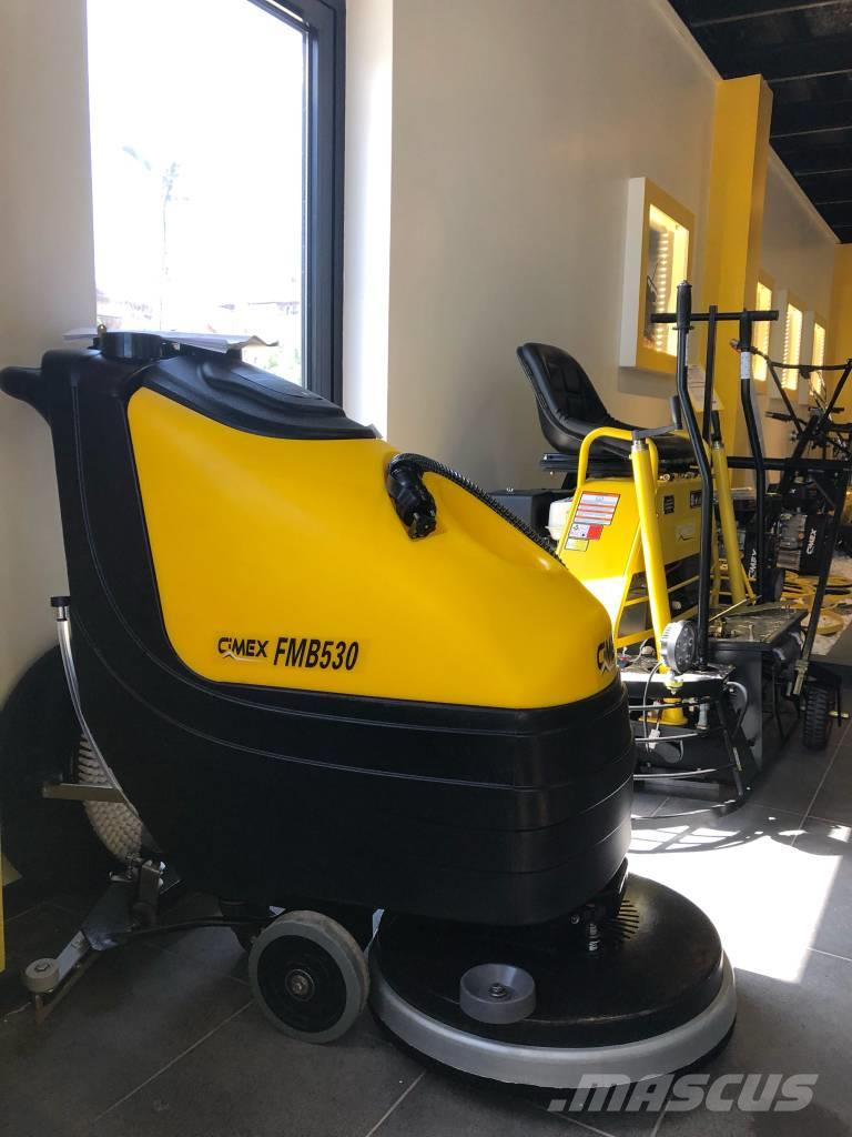 [Other] CIMEX Scrubber Dryer with Batteries, Charger CIMEX