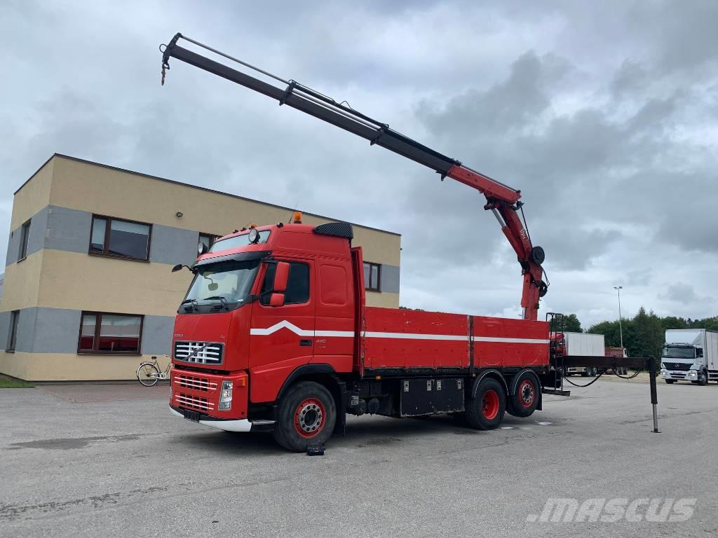 Volvo FH440 6x2+CRANE