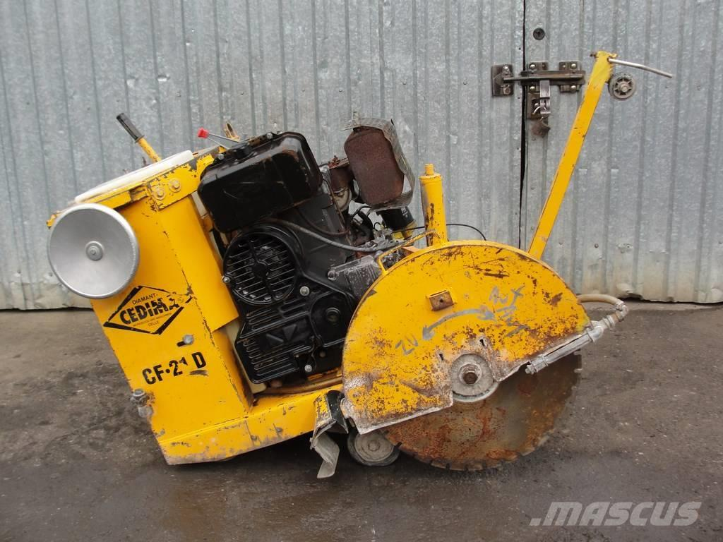 Cedima CF 21 D Fugenschneider Cutting Machine NR 97